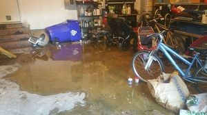 Flooded Garage In Baltimore