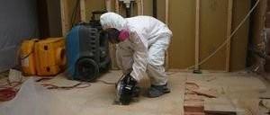 Water Damage Restoration Floor Repair